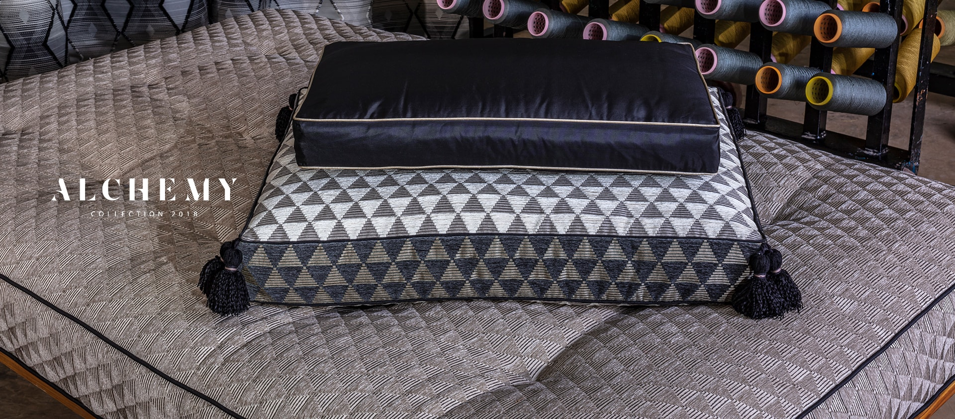 A global luxury home textile brand designed for the discerning
